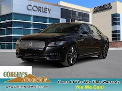 Used Vehicles for sale 2017 Lincoln Continental Reserve Sedan in Albuquerque, NM
