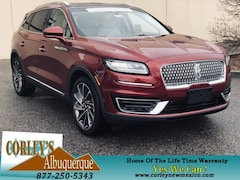 New Lincoln Models for sale 2019 Lincoln Nautilus Reserve SUV 2LMPJ8L92KBL23102 in Albuquerque, NM