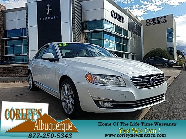 2015 Volvo S80 T6 Platinum Sedan