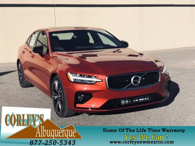 New 2019 Volvo S60 T5 R-Design Sedan Albuquerque