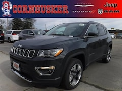 New 2018 Jeep Compass LIMITED 4X4 Sport Utility in Norfolk,NE