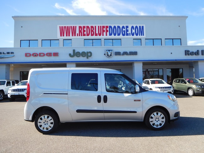 New 2018 Ram ProMaster City TRADESMAN SLT CARGO VAN Cargo Van for sale in Red Bluff at Red Bluff Dodge Chrysler Jeep Ram