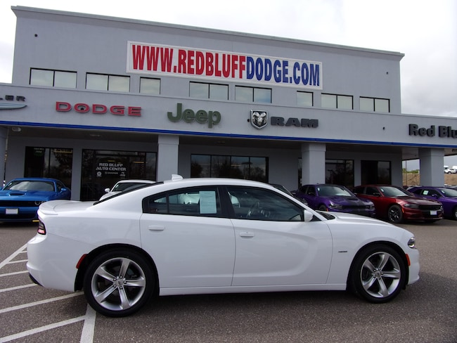 Used 2018 Dodge Charger R/T Sedan for sale in Red Bluff at Red Bluff Dodge Chrysler Jeep Ram