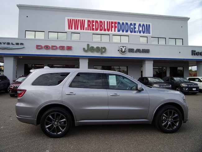 Used 2018 Dodge Durango GT SUV for sale in Red Bluff at Red Bluff Dodge Chrysler Jeep Ram