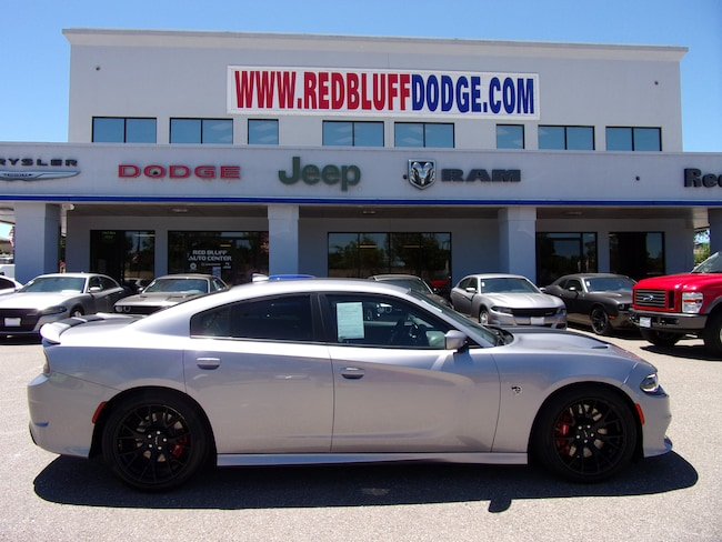 Used 2016 Dodge Charger SRT Hellcat Sedan for sale in Red Bluff at Red Bluff Dodge Chrysler Jeep Ram