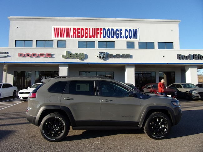 New 2019 Jeep Cherokee TRAILHAWK 4X4 Sport Utility for sale in Red Bluff at Red Bluff Dodge Chrysler Jeep Ram