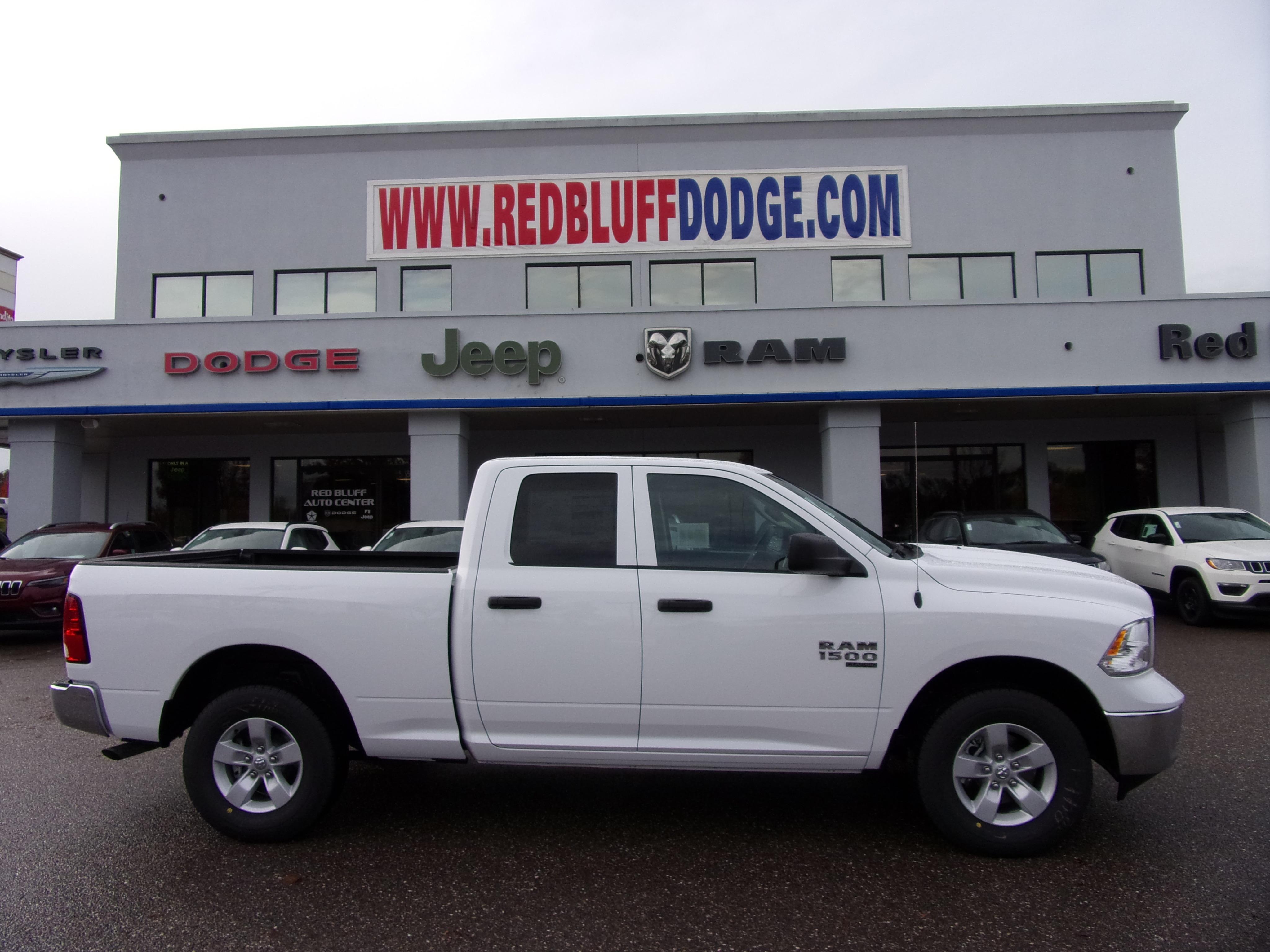 Red Bluff Dodge >> New 2019 Ram 1500 Classic Tradesman Quad Cab 4x4 6 4 Box Quad Cab In Red Bluff Near Chico Redding Paradise Ca Vin 1c6rr7fg0ks558388