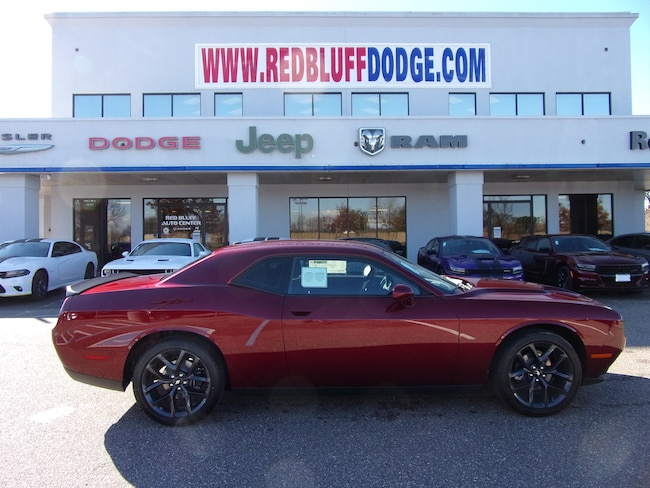 New 2019 Dodge Challenger SXT Coupe for sale in Red Bluff at Red Bluff Dodge Chrysler Jeep Ram