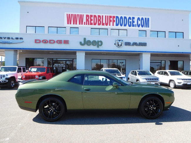 New 2018 Dodge Challenger SXT PLUS Coupe For Sale/Lease Red Bluff, CA