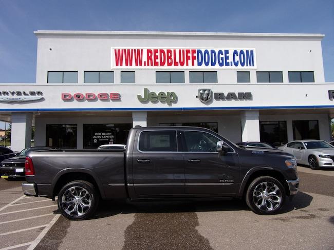 Red Bluff Dodge >> New 2019 Ram 1500 Limited Crew Cab 4x4 6 4 Box Crew Cab In Red Bluff Near Chico Redding Paradise Ca Vin 1c6srfpt3kn803514