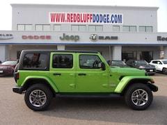 New Cars 2018 Jeep Wrangler UNLIMITED SAHARA 4X4 Sport Utility Red Bluff, CA