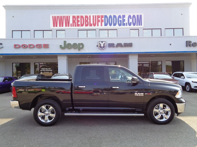 Used 2017 Ram 1500 SLT Truck Crew Cab for sale in Red Bluff at Red Bluff Dodge Chrysler Jeep Ram