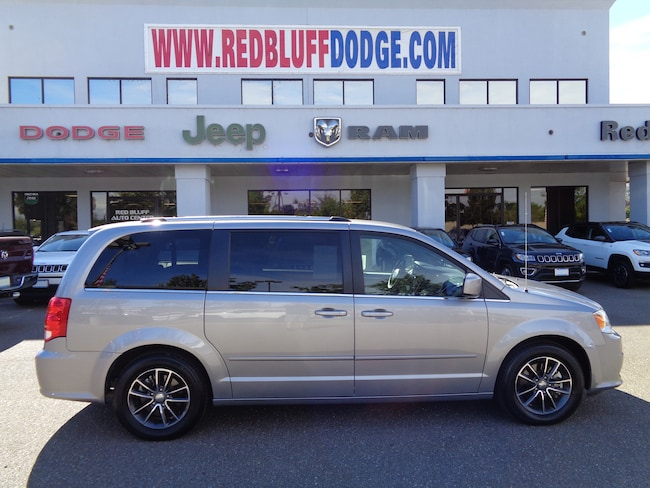 fc2e834d8552c2 Used 2017 Dodge Grand Caravan SXT Van for sale in Red Bluff at Red Bluff  Dodge