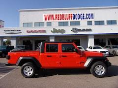 New Cars 2020 Jeep Gladiator SPORT S 4X4 Crew Cab 1C6HJTAG4LL146571 Red Bluff, CA