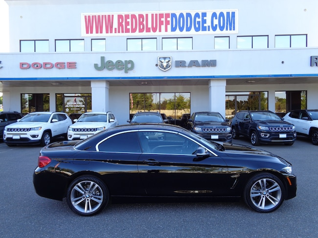Used 2018 BMW 430i xDrive Convertible for sale in Red Bluff at Red Bluff Dodge Chrysler Jeep Ram