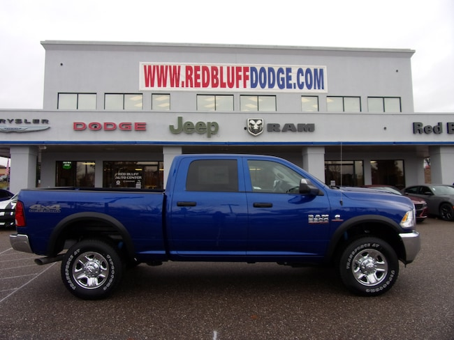 New 2018 Ram 2500 TRADESMAN CREW CAB 4X4 6'4 BOX Crew Cab for sale in Red Bluff at Red Bluff Dodge Chrysler Jeep Ram