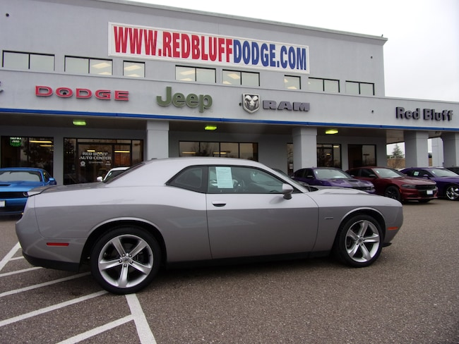 Used 2017 Dodge Challenger R/T Coupe for sale in Red Bluff at Red Bluff Dodge Chrysler Jeep Ram
