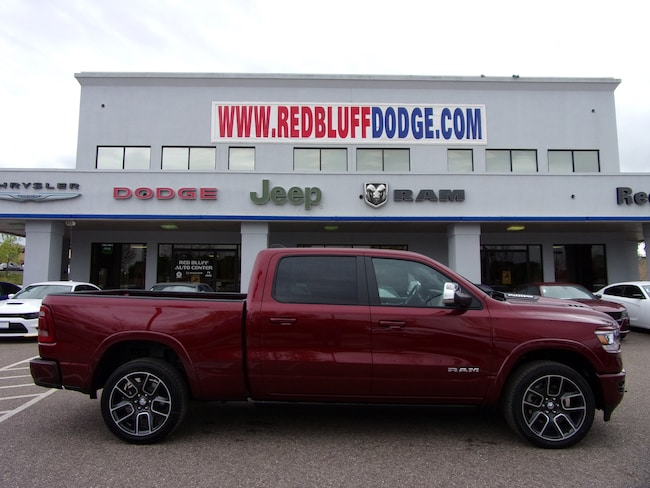 New 2019 Ram 1500 LARAMIE CREW CAB 4X4 6'4 BOX Crew Cab for sale in Red Bluff at Red Bluff Dodge Chrysler Jeep Ram