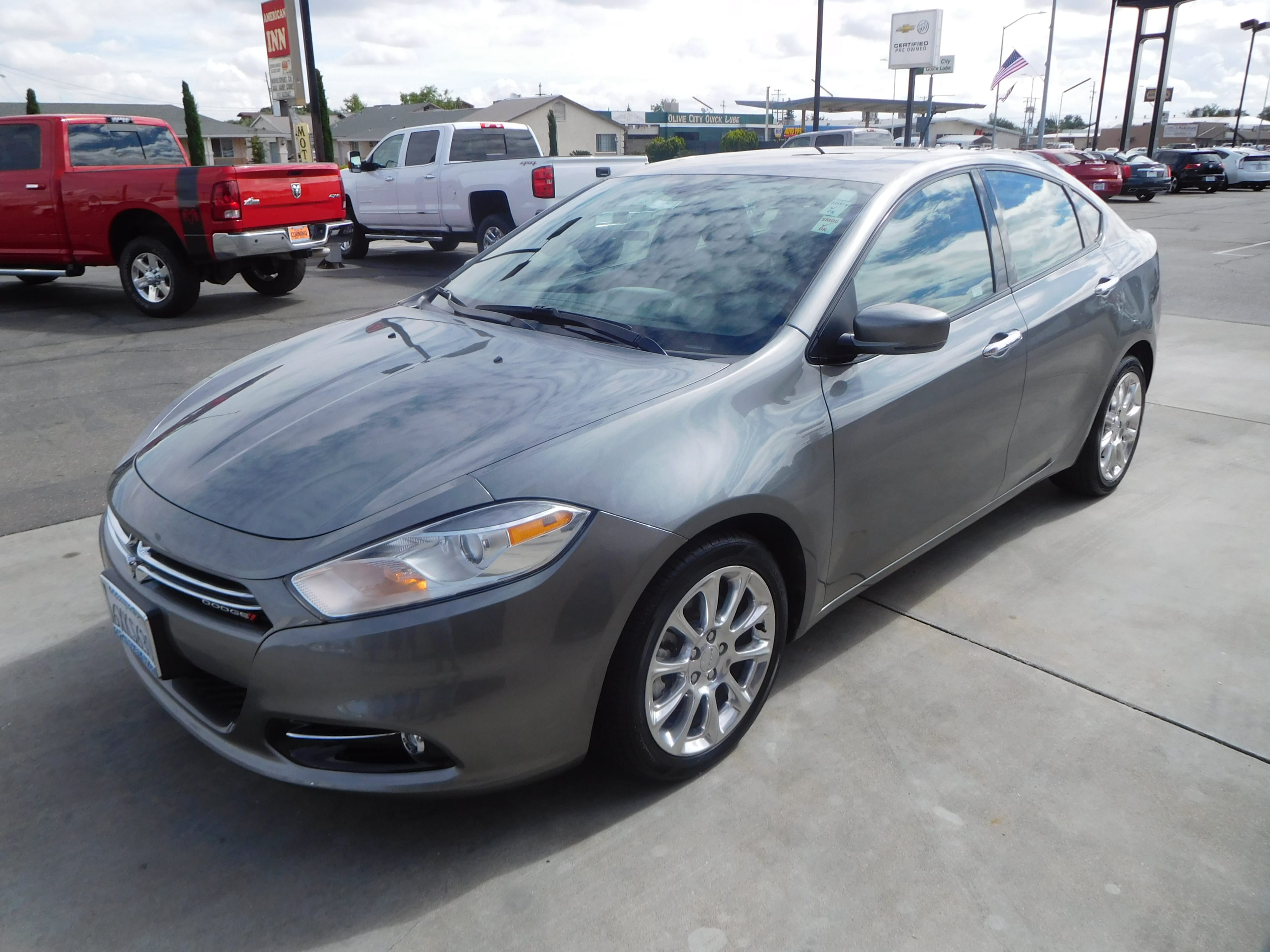 Featured pre-owned vehicles 2013 Dodge Dart Limited Sedan for sale near you in Corning, CA