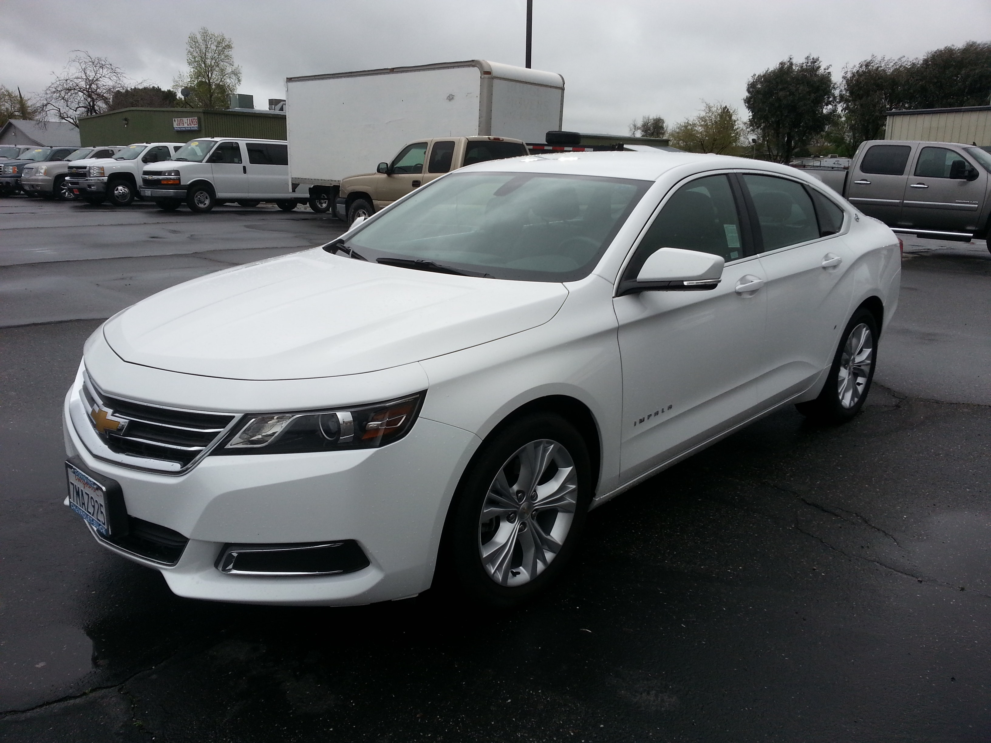 Featured pre-owned vehicles 2015 Chevrolet Impala LT Sedan for sale near you in Corning, CA