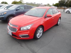All new and used cars, trucks, and SUVs 2016 Chevrolet Cruze Limited LTZ Sedan for sale near you in Corning, CA