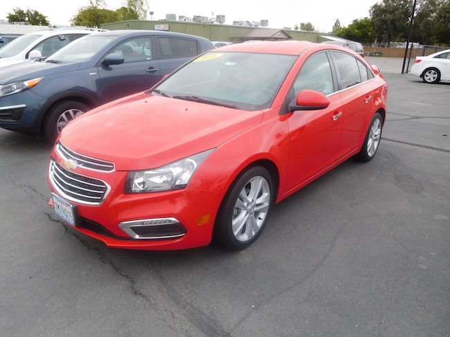 Used 2016 Chevrolet Cruze Limited LTZ Sedan Corning