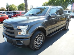 All new and used cars, trucks, and SUVs 2015 Ford F150 Lariat Crew Cab 5 1/2 bed for sale near you in Corning, CA