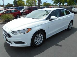 New 2018 Ford Fusion S Sedan near Corning, CA