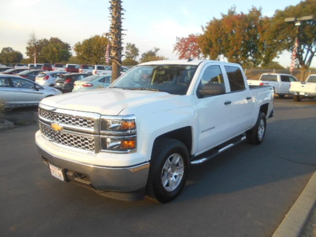 Used 2014 Chevrolet Silverado 1500 LT Truck Crew Cab for sale in Corning, CA
