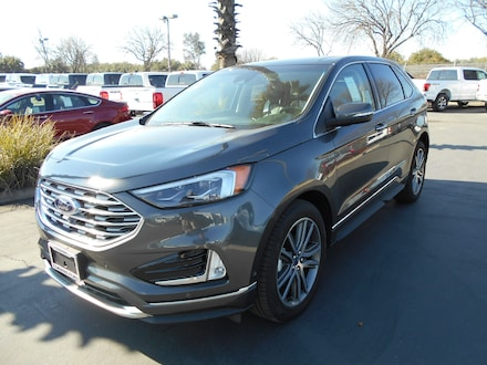 Featured new and used cars, trucks, and SUVs 2019 Ford Edge Titanium SUV for sale near you in Corning, CA
