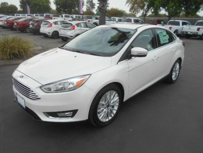 New 2017 Ford Focus Titanium Sedan Corning