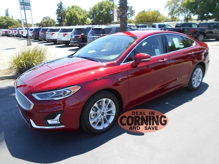 Featured new and used cars, trucks, and SUVs 2019 Ford Fusion Energi Titanium Sedan for sale near you in Corning, CA