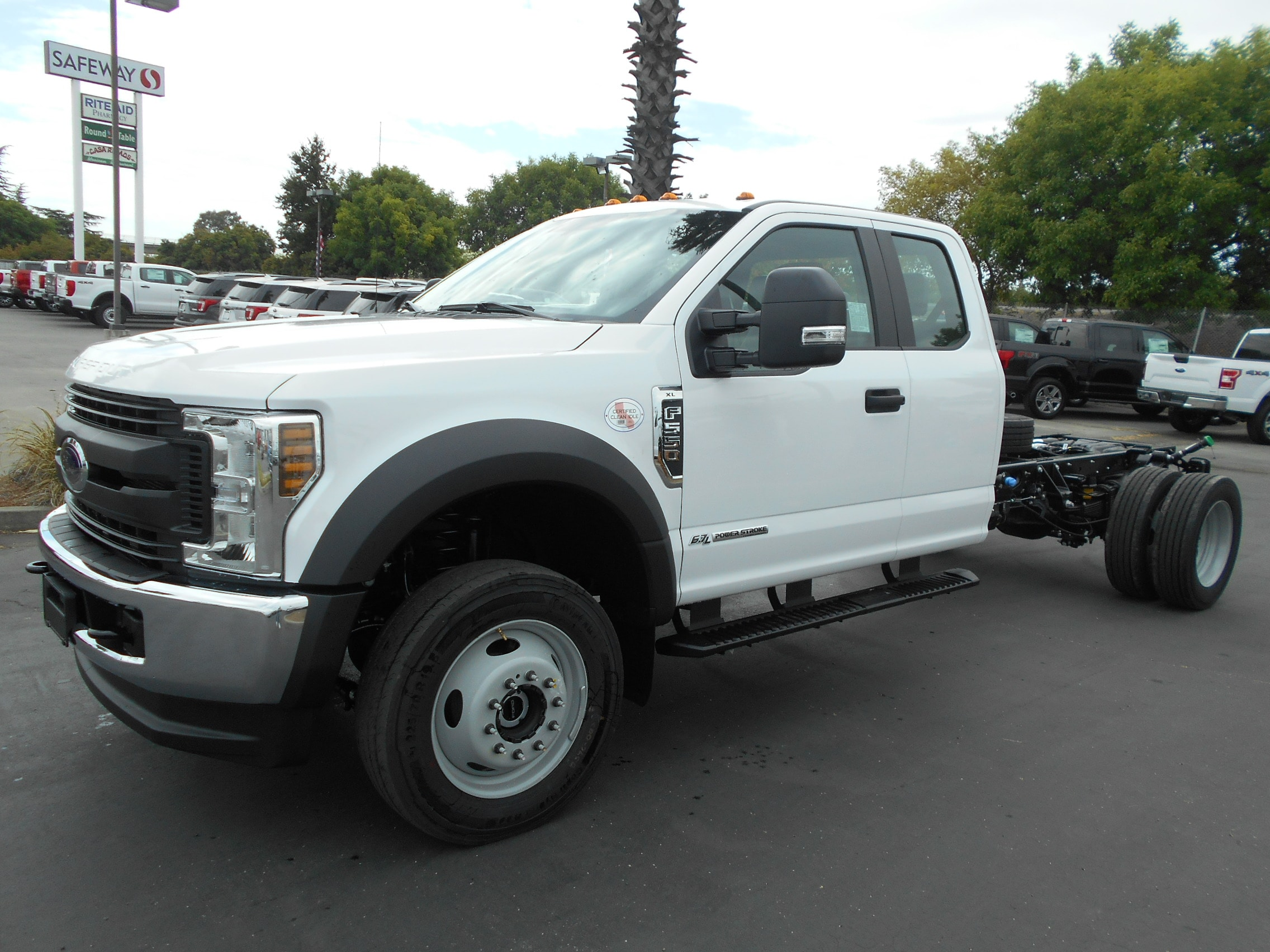 2019 Ford F-550 Chassis Chassis