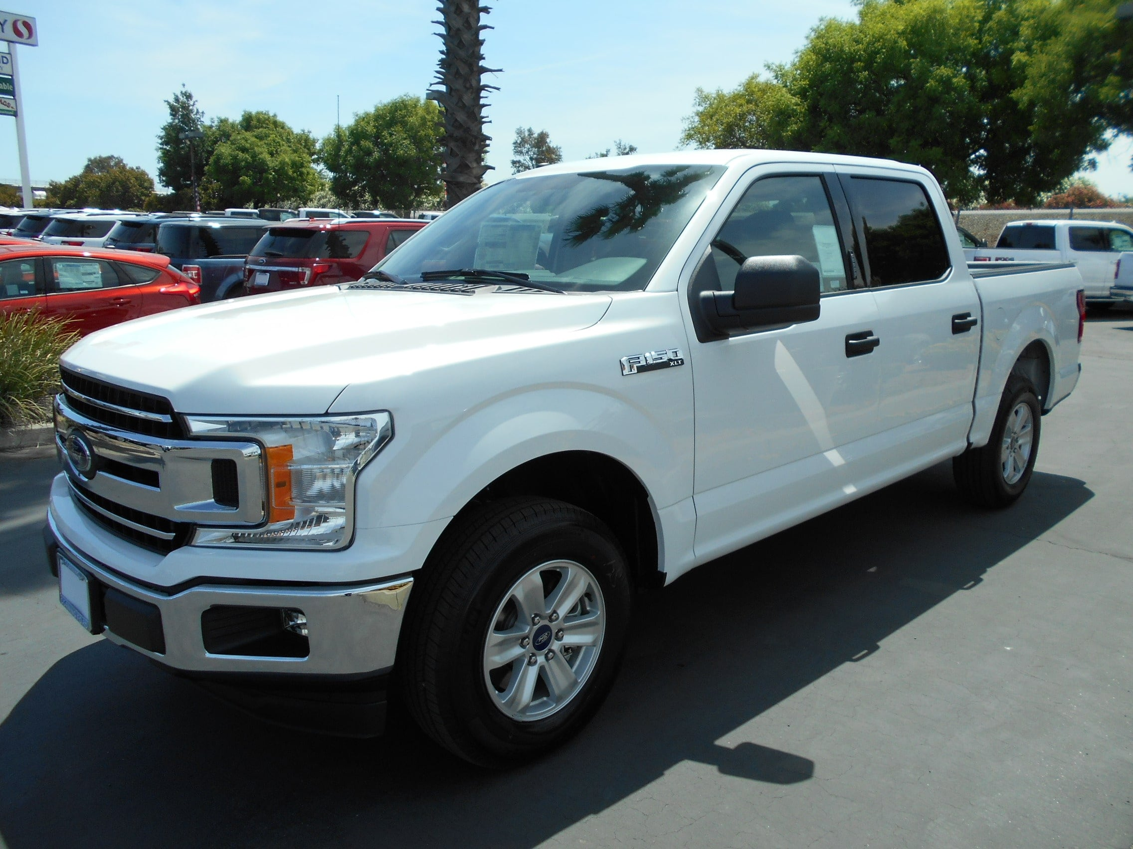 Featured new Ford cars, trucks, and SUVs 2018 Ford F-150 XLT Crew Cab 5 1/2 bed for sale near you in Corning, CA