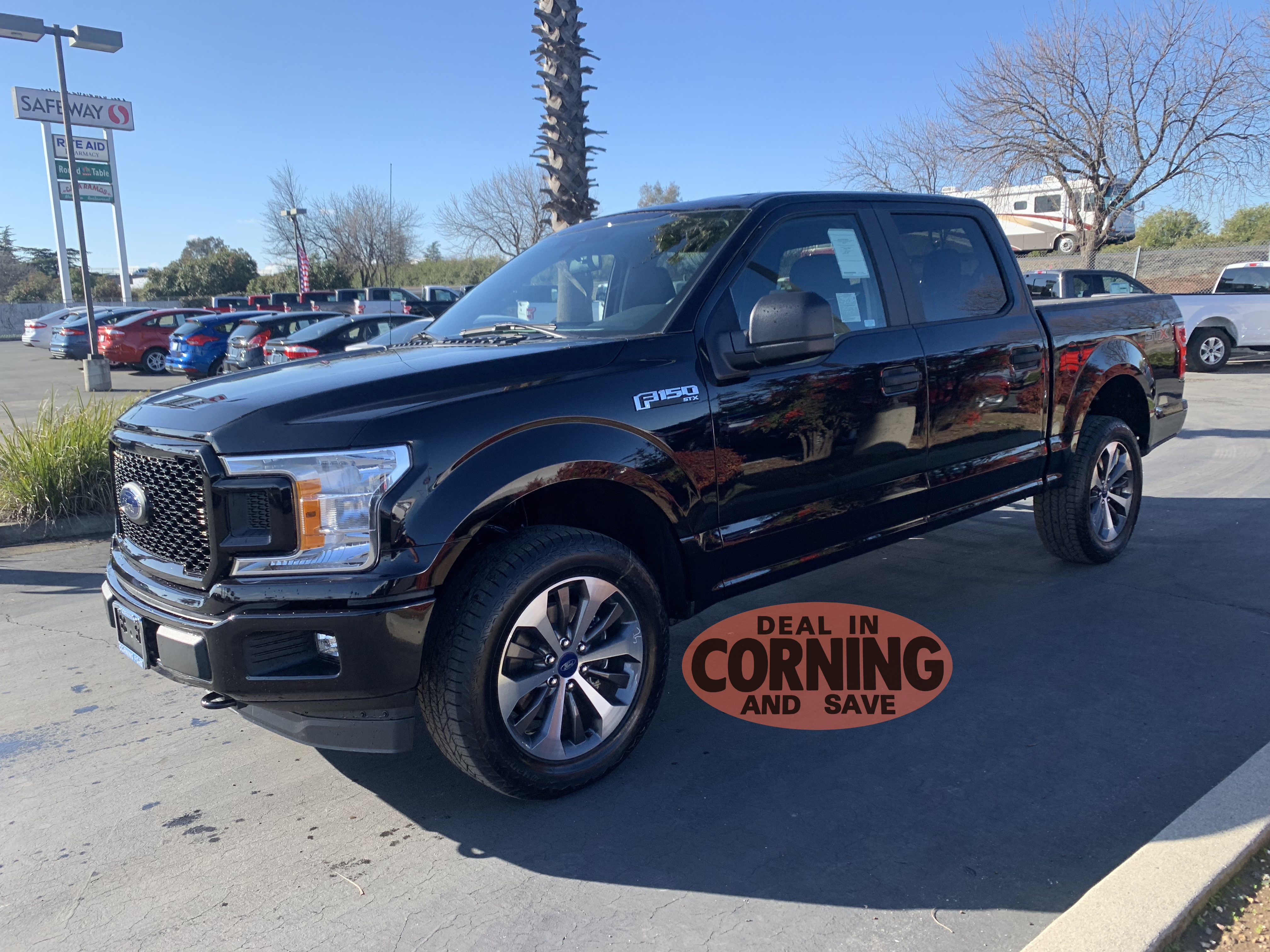Featured new Ford cars, trucks, and SUVs 2019 Ford F-150 STX Crew Cab 5 1/2 bed for sale near you in Corning, CA
