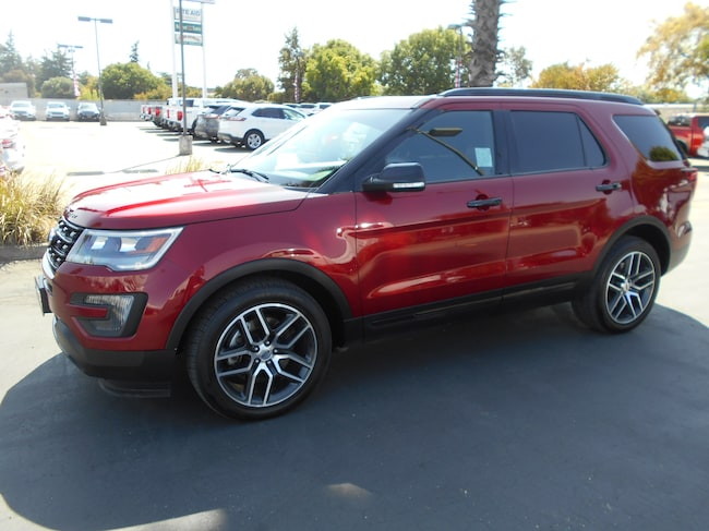Used 2016 Ford Explorer Sport SUV Corning