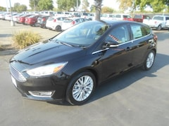 New Ford cars, trucks, and SUVs 2017 Ford Focus Titanium Hatchback for sale near you in Corning, CA