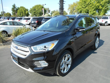 Featured new Ford cars, trucks, and SUVs 2019 Ford Escape Titanium SUV for sale near you in Corning, CA