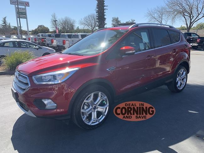 New 2019 Ford Escape Titanium SUV Corning