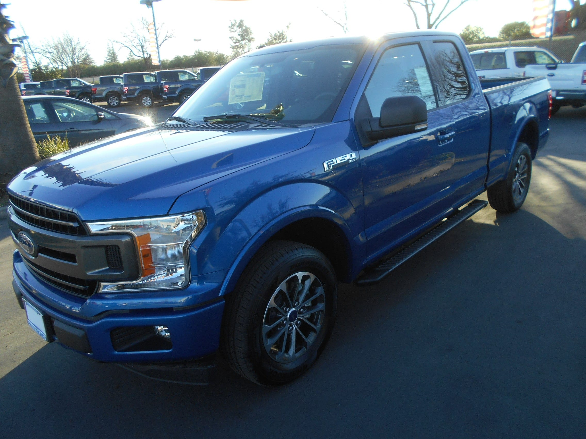 Featured new Ford cars, trucks, and SUVs 2018 Ford F-150 XLT Super Cab 6 1/2 Bed for sale near you in Corning, CA