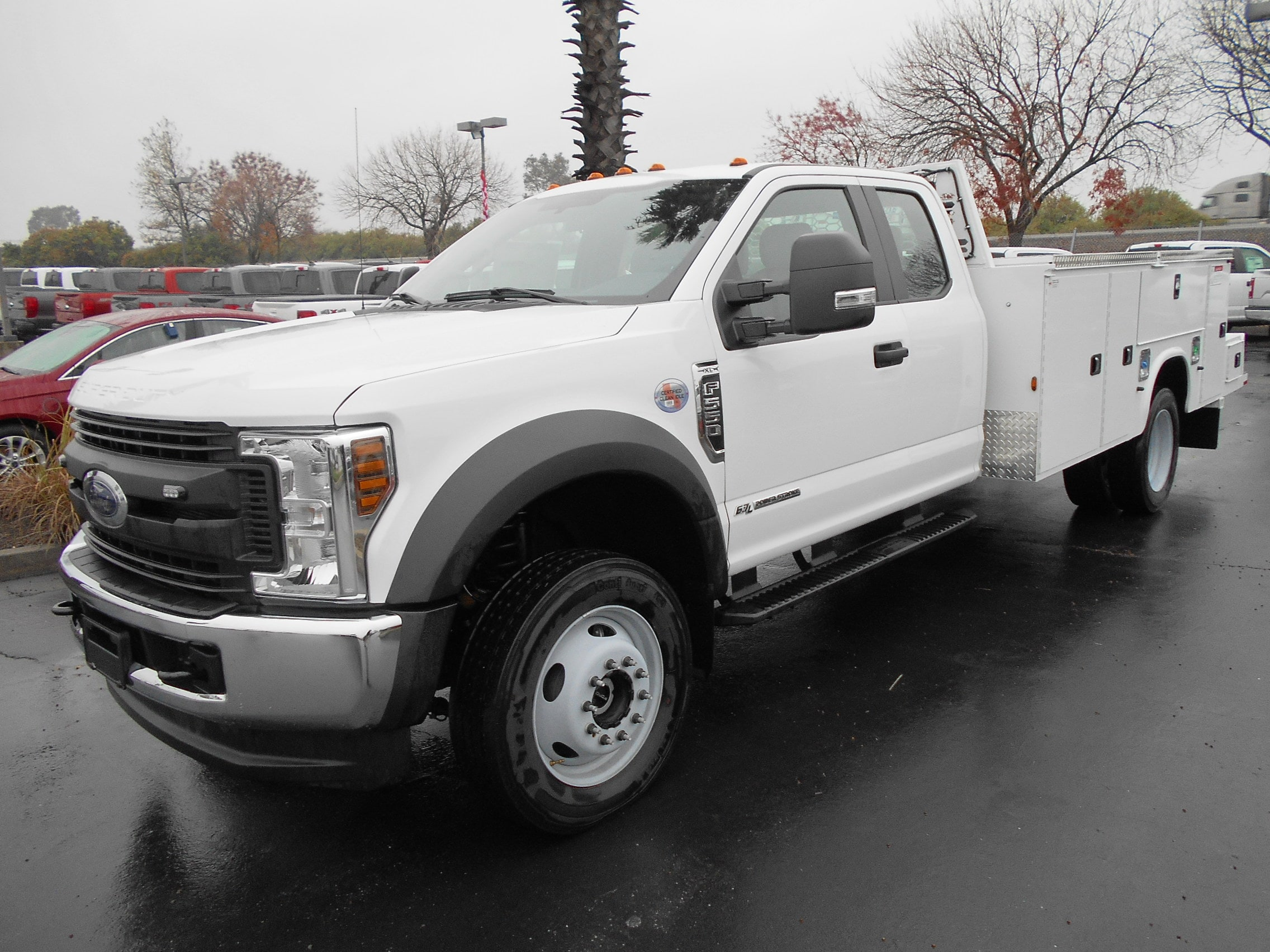 2019 Ford F-550 Chassis SuperCab