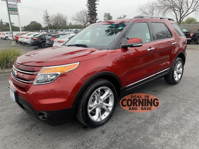 Used 2015 Ford Explorer Limited SUV Corning
