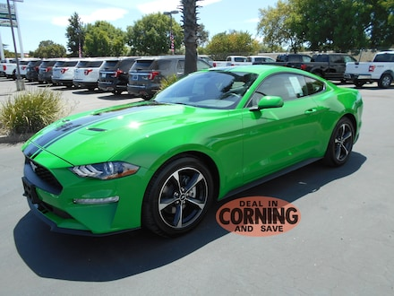 Featured new Ford cars, trucks, and SUVs 2019 Ford Mustang Coupe for sale near you in Corning, CA