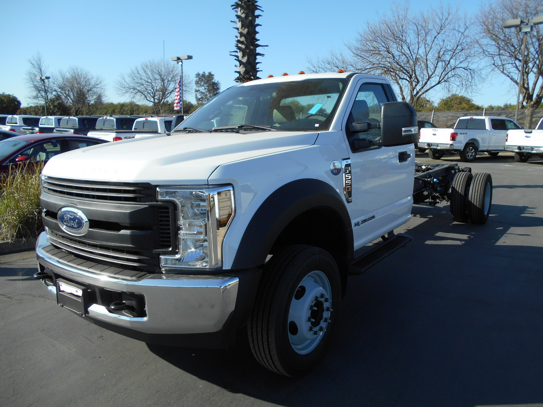 2019 Ford F-550 Chassis Regular Cab