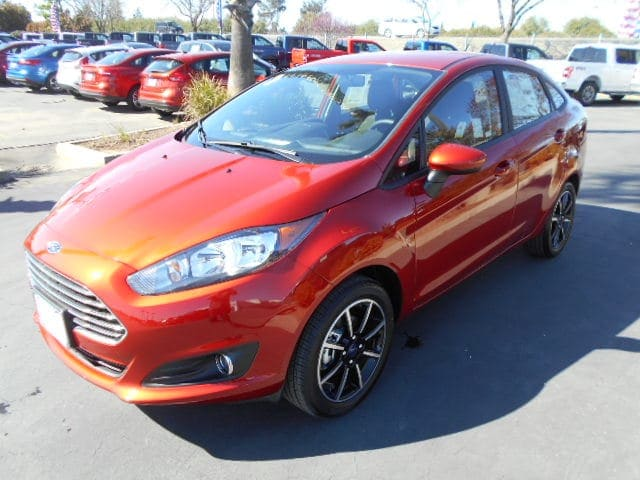 Featured new Ford cars, trucks, and SUVs 2018 Ford Fiesta SE Sedan for sale near you in Corning, CA