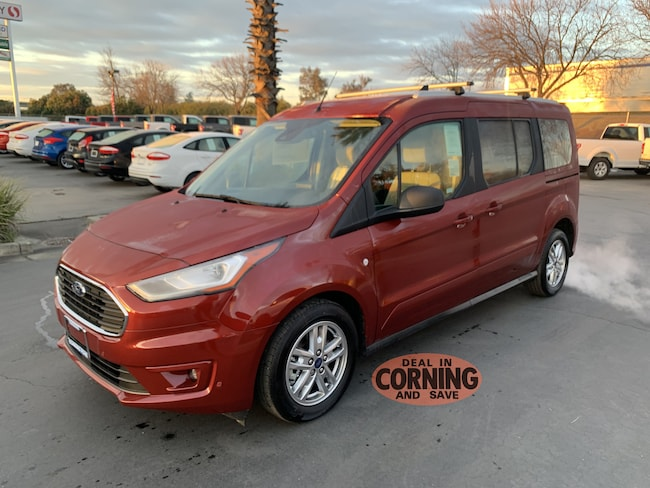 New 2019 Ford Transit Connect XLT Van Corning
