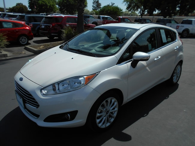 Used 2017 Ford Fiesta Titanium Sedan Corning