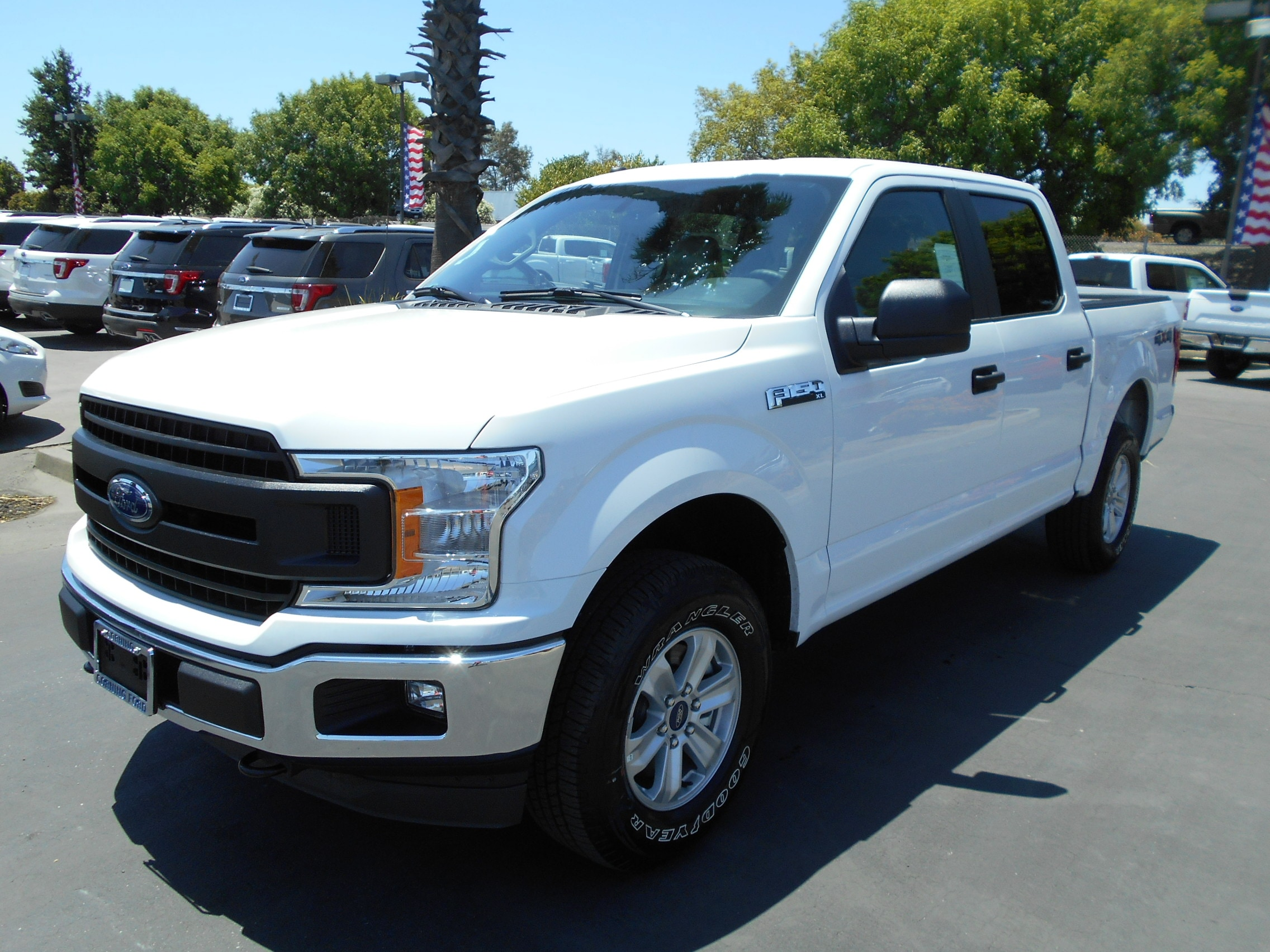 Featured new Ford cars, trucks, and SUVs 2019 Ford F-150 XL Crew Cab 5 1/2 bed for sale near you in Corning, CA