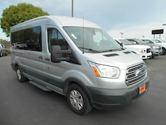 Used cars, trucks, and SUVs 2016 Ford Transit 350 XLT Wagon Medium Roof Wagon for sale near you in Corning, CA