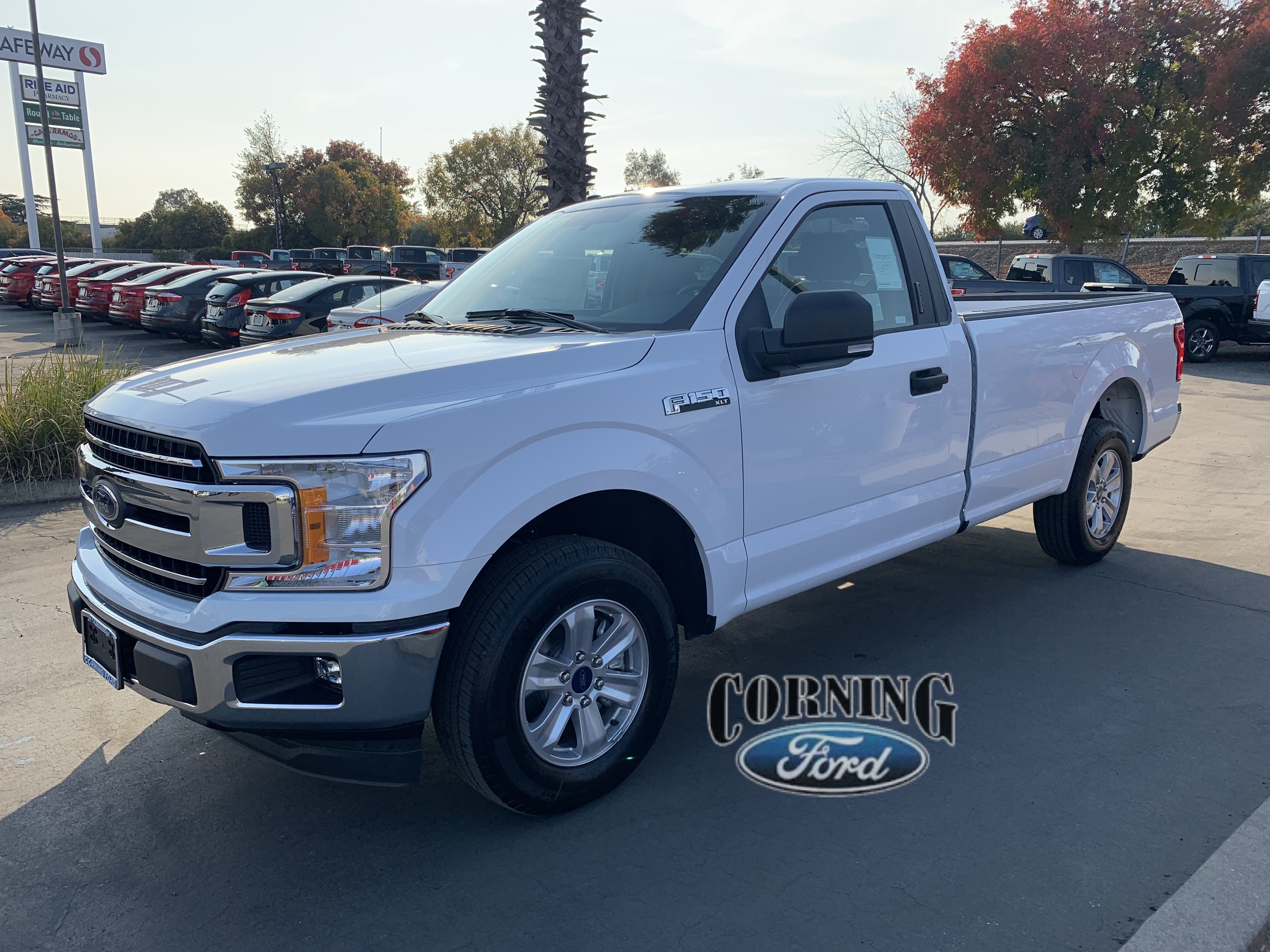 Featured new Ford cars, trucks, and SUVs 2018 Ford F-150 XLT Regular Cab for sale near you in Corning, CA